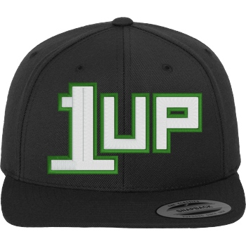 1up - Cap white