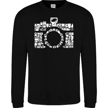 Retro Icon Cam JH Sweatshirt - Schwarz