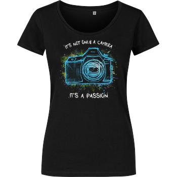 FilmenLernen.de It's not only a Camera T-Shirt Damenshirt schwarz