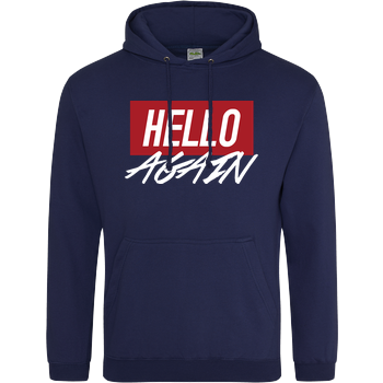 Der Keller - Hello Again Red JH Hoodie - Navy