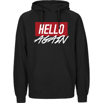 Der Keller - Hello Again Red Fairtrade Hoodie