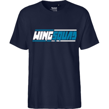 hallodri Hallodri - Wingsquad T-Shirt Fairtrade T-Shirt - navy