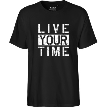 ImBlacKTimE ImBlacKTimE - Live your Time T-Shirt Fairtrade T-Shirt