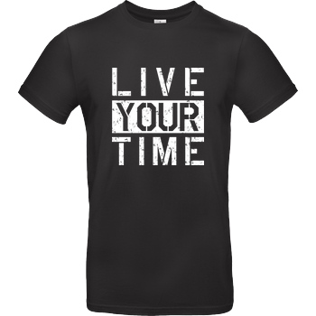 ImBlacKTimE - Live your Time white
