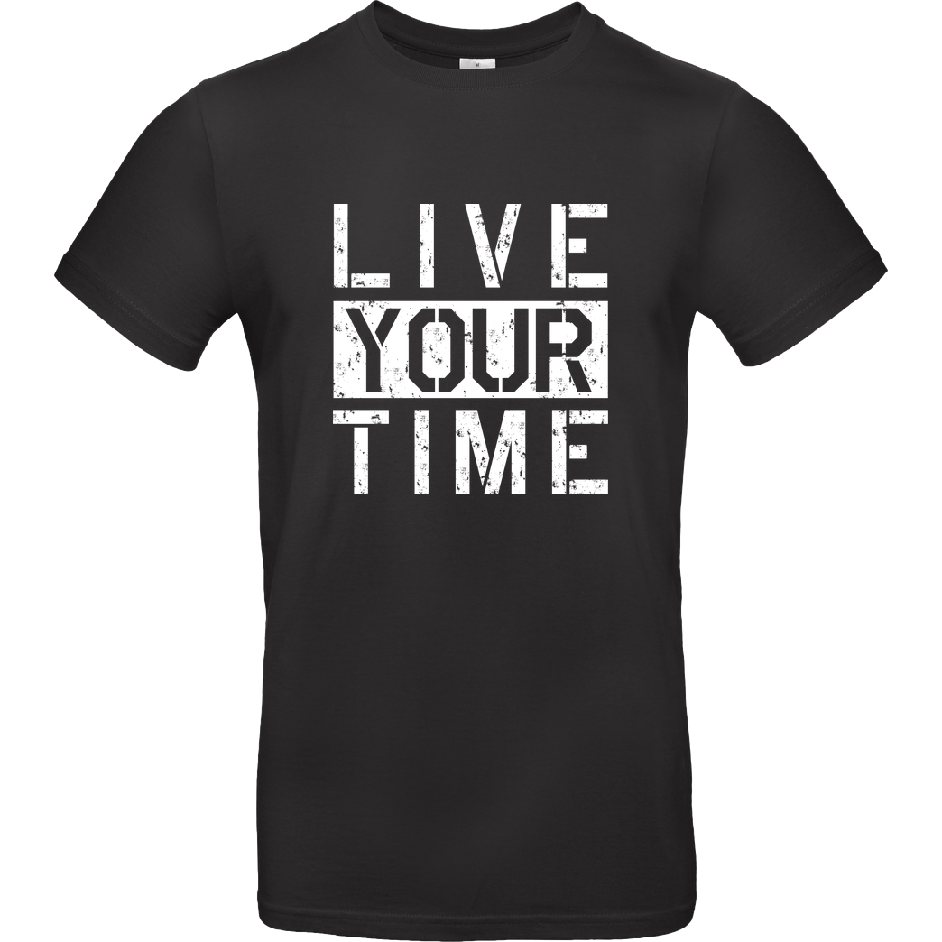 ImBlacKTimE ImBlacKTimE - Live your Time T-Shirt B&C EXACT 190 - Black