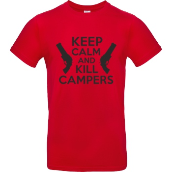 Keep Calm and Kill Campers black