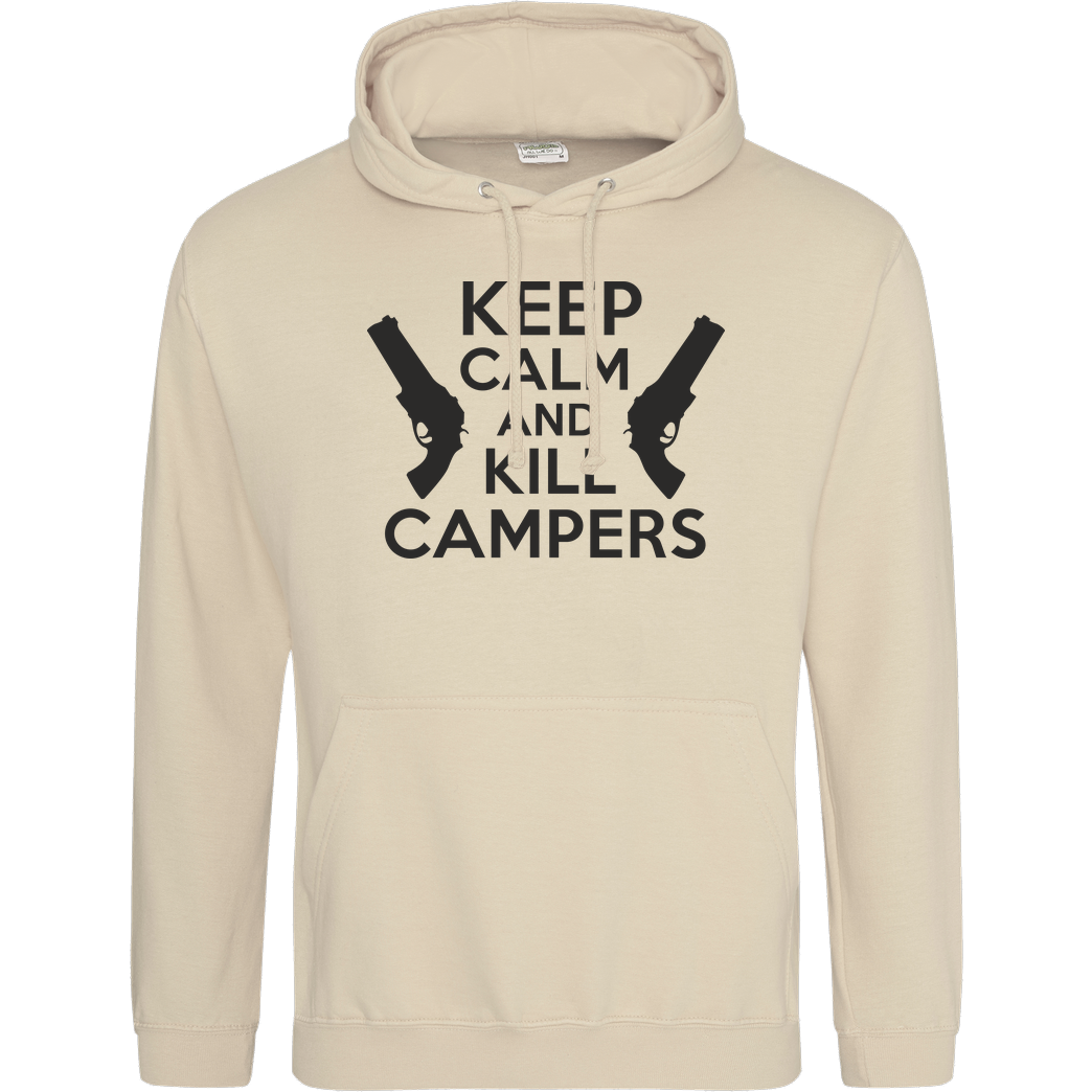 bjin94 Keep Calm and Kill Campers Sweatshirt JH Hoodie - Sand