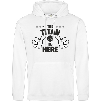 The Titan is Here black