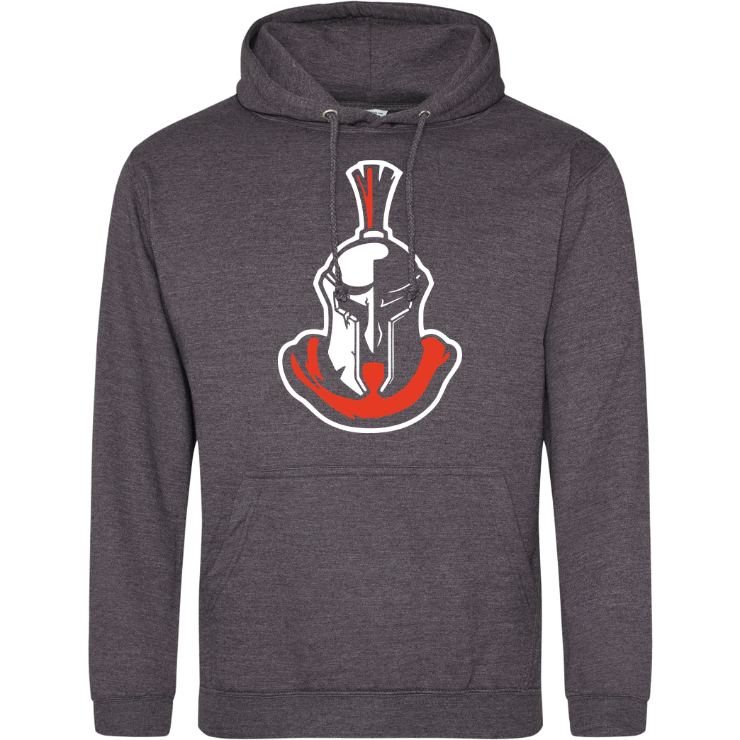 YAWS YAWS - Helmet Sweatshirt JH Hoodie - Dark heather grey