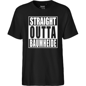 Straight Outta Baumheide T-Shirt Fairtrade T-Shirt