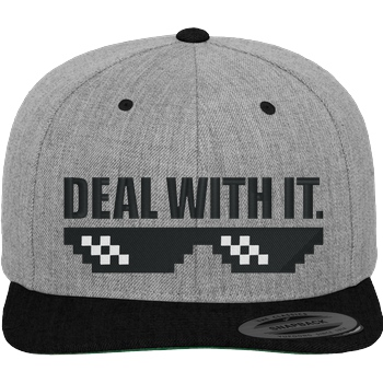 Deal with It. Cap black