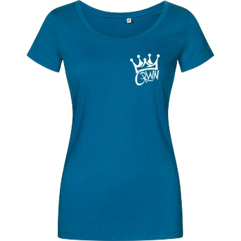 KillaPvP KillaPvP - Crown T-Shirt Damenshirt petrol