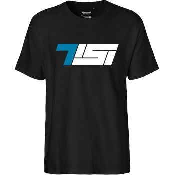 TisiSchubecH Tisi - Logo T-Shirt Fairtrade T-Shirt - black