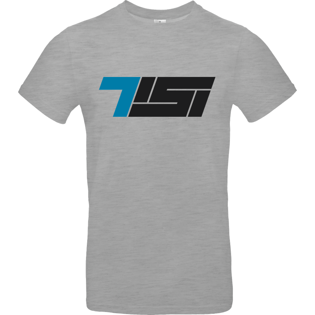 TisiSchubecH Tisi - Logo T-Shirt B&C EXACT 190 - heather grey