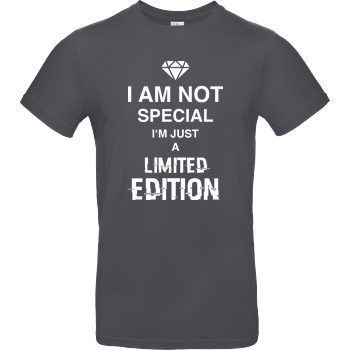 bjin94 I'm not Special T-Shirt B&C EXACT 190 - Dark Grey