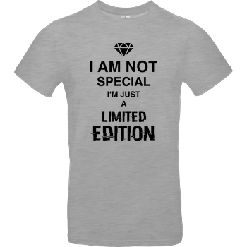 I'm not Special B&C EXACT 190 - heather grey