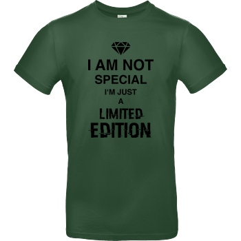 bjin94 I'm not Special T-Shirt B&C EXACT 190 -  Bottle Green