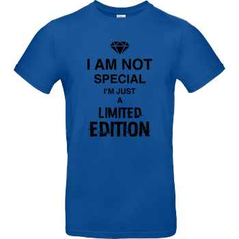 I'm not Special B&C EXACT 190 - Royal