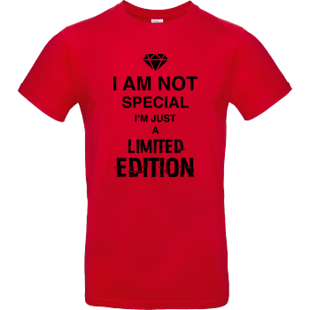 I'm not Special B&C EXACT 190 - Red
