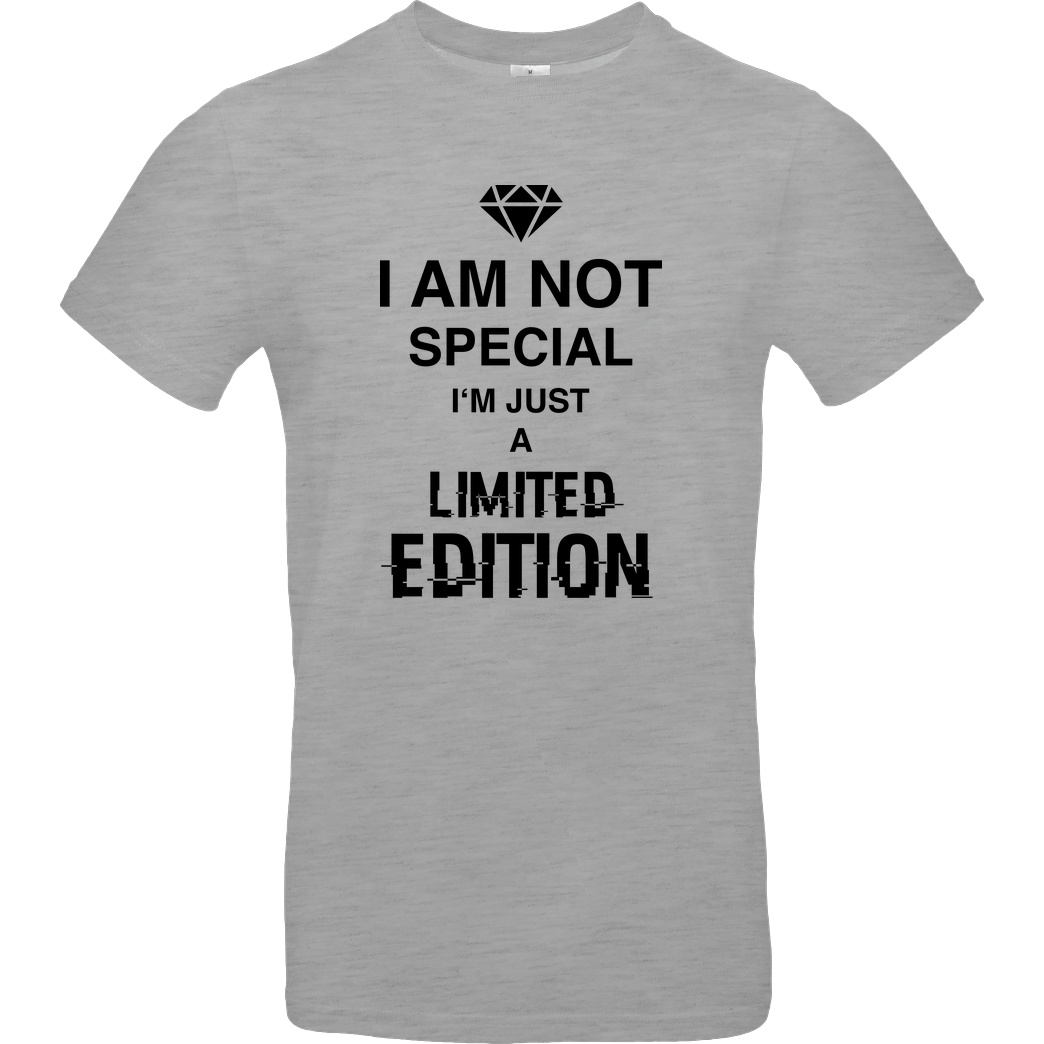 bjin94 I'm not Special T-Shirt B&C EXACT 190 - heather grey