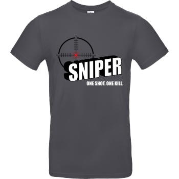 One Shot One Kill B&C EXACT 190 - Dark Grey