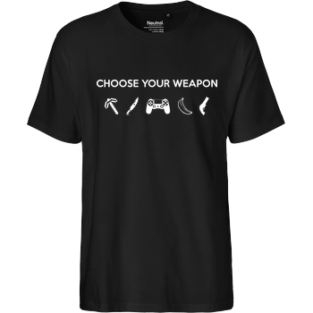 bjin94 Choose Your Weapon v1 T-Shirt Fairtrade T-Shirt
