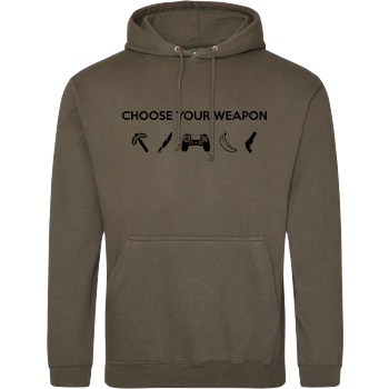 Choose Your Weapon v1 JH Hoodie - Khaki