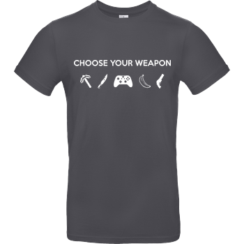 Choose Your Weapon v2 B&C EXACT 190 - Dark Grey