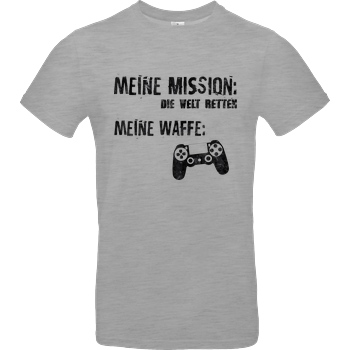 bjin94 Meine Mission v1 T-Shirt B&C EXACT 190 - heather grey