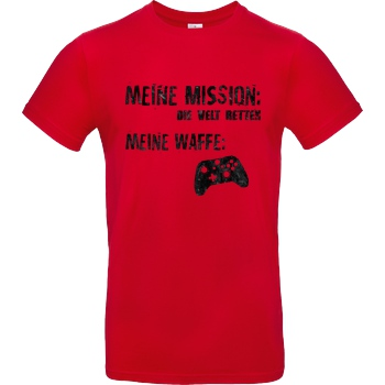 bjin94 Meine Mission v2 T-Shirt B&C EXACT 190 - Red