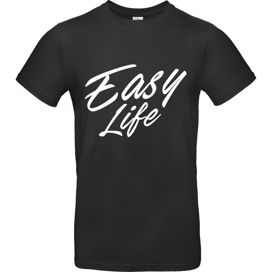 None Sweazy - Easy Life T-Shirt B&C EXACT 190 - Black