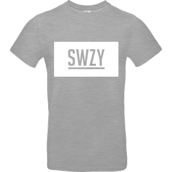 None Sweazy - SWZY T-Shirt B&C EXACT 190 - heather grey