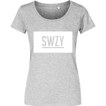 None Sweazy - SWZY T-Shirt Damenshirt heather grey