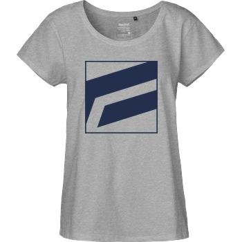 FantouGames Fantougames - Zoomed T-Shirt Fairtrade Loose Fit Girlie - heather grey