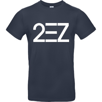 MarcelScorpion MarcelScorpion - 2EZ T-Shirt B&C EXACT 190 - Navy