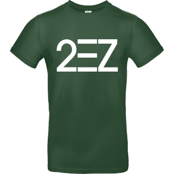 MarcelScorpion MarcelScorpion - 2EZ T-Shirt B&C EXACT 190 -  Bottle Green