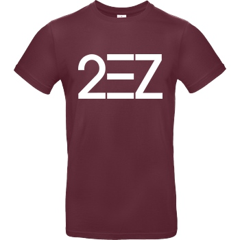MarcelScorpion MarcelScorpion - 2EZ T-Shirt B&C EXACT 190 - Burgundy