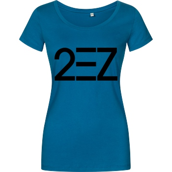MarcelScorpion MarcelScorpion - 2EZ T-Shirt Girlshirt petrol