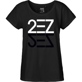None MarcelScorpion - 2EZ Shadow T-Shirt Fairtrade Loose Fit Girlie