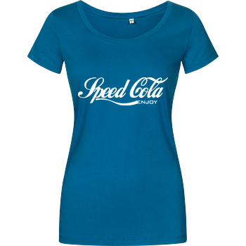 veKtik - Speed Cola Damenshirt petrol