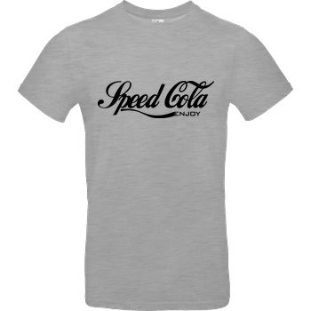 veKtik - Speed Cola B&C EXACT 190 - heather grey