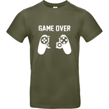 bjin94 Game Over v1 T-Shirt B&C EXACT 190 - Khaki