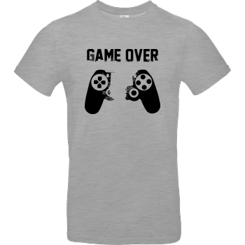 Game Over v1 B&C EXACT 190 - heather grey