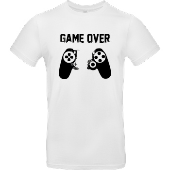 bjin94 Game Over v1 T-Shirt B&C EXACT 190 -  White