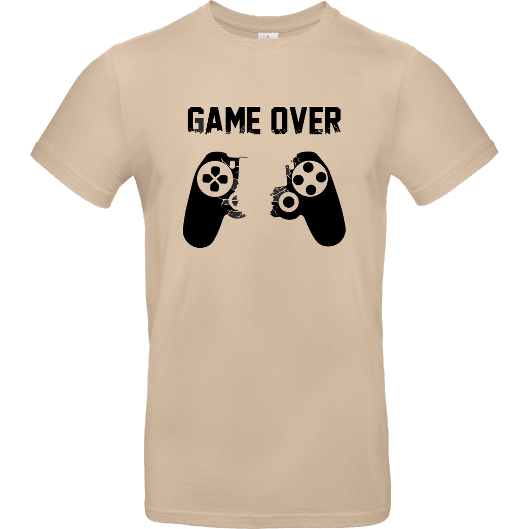 bjin94 Game Over v1 T-Shirt B&C EXACT 190 - Sand