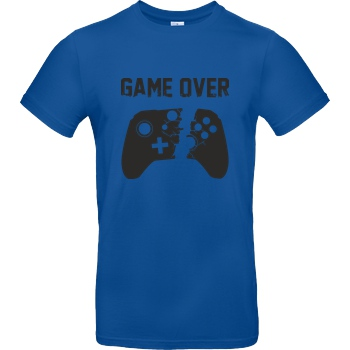 bjin94 Game Over v2 T-Shirt B&C EXACT 190 - Royal