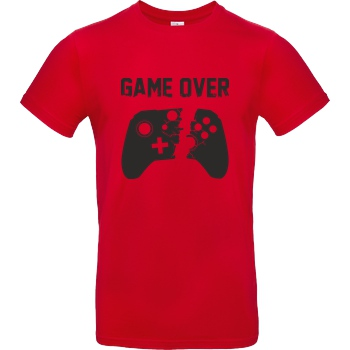 bjin94 Game Over v2 T-Shirt B&C EXACT 190 - Red