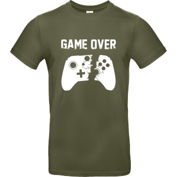 bjin94 Game Over v2 T-Shirt B&C EXACT 190 - Khaki
