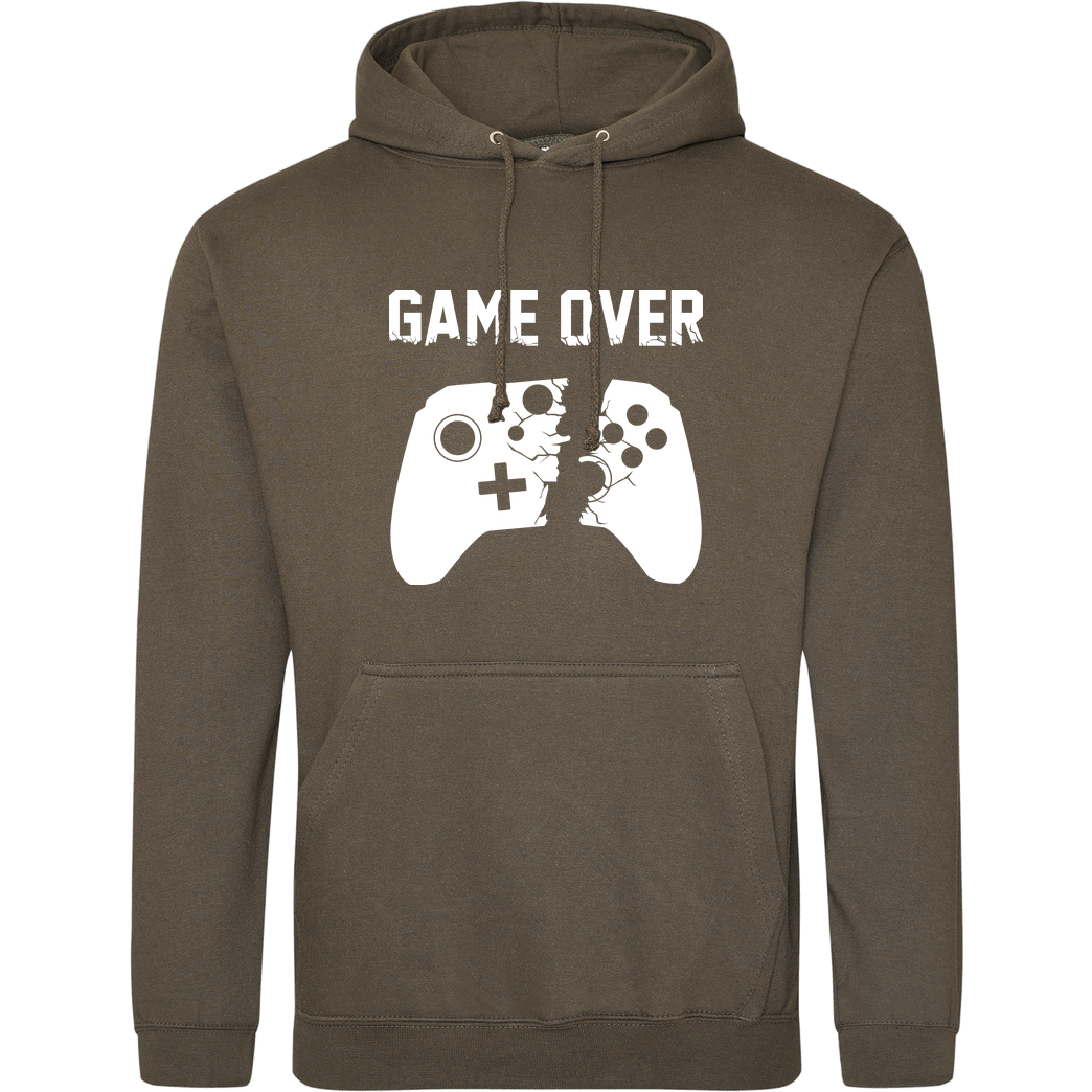 bjin94 Game Over v2 Sweatshirt JH Hoodie - Khaki