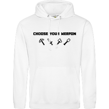 Choose Your Weapon MC-Edition JH Hoodie - Weiß
